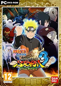 Game Naruto Shippuden: Ultimate Ninja Storm 3 Full Burst (PC) Cover