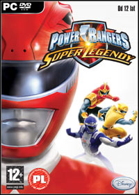 Okładka Power Rangers: Super Legends (PC)