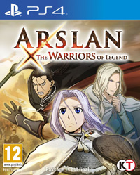 Game Arslan: The Warriors of Legend (PS4) Cover