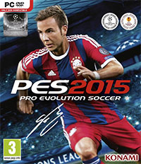 Game Pro Evolution Soccer 2015 (PS4) Cover