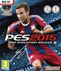 Game Pro Evolution Soccer 2015 (PS4) Cover