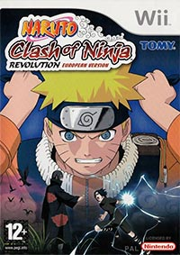 Okładka Naruto: Clash of Ninja Revolution (Wii)