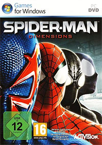 Game Spider-Man: Shattered Dimensions (X360) Cover
