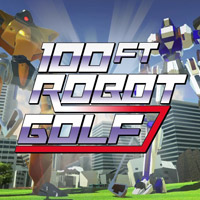 Game 100ft Robot Golf (PS4) Cover