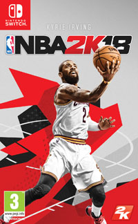 Okładka NBA 2K18 (Switch)