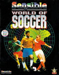 Sensible World of Soccer Game Box