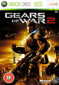Gears of War 2 Game Box