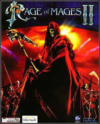 Rage of Mages II: Necromancer Game Box