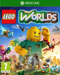 Game LEGO Worlds (PS4) Cover