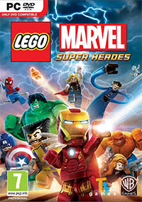 Game LEGO Marvel Super Heroes (WiiU) Cover