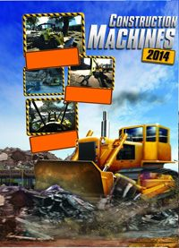 Construction Machines 2014 Game Box