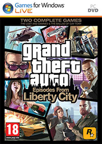 Grand Theft Auto: Episodes from Liberty City Game Box