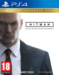 Okładka Hitman (PS4)