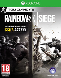 Game Tom Clancy's Rainbow Six: Siege (PS4) Cover