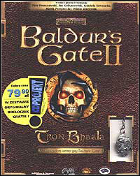 Baldur's Gate II: Throne of Bhaal Game Box