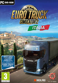 Euro Truck Simulator 2: Italia Game Box