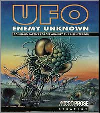 Ufo enemy unknown 1994 pc okładka