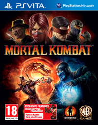 Game Mortal Kombat (PSV) Cover
