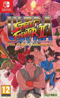 Game Ultra Street Fighter II: The Final Challengers (Switch) Cover