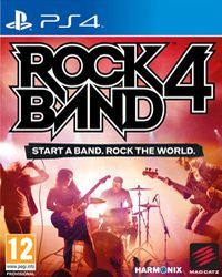 Game Rock Band 4 (PS4) Cover