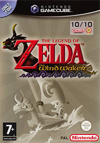 Game The Legend of Zelda: The Wind Waker (GCN) Cover