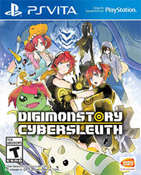 Game Digimon Story: Cyber Sleuth (PS4) Cover