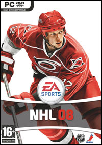 Okładka NHL 08 (PC)