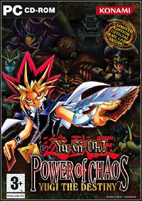Game Yu-Gi-Oh! Power of Chaos: Yugi The Destiny (PC) Cover