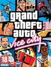 Game Grand Theft Auto: Vice City (PS2) Cover