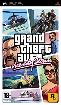 Okładka Grand Theft Auto: Vice City Stories (PSP)