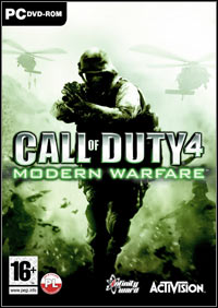 Call of Duty 4: Modern Warfare Game Box