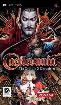 Okładka Castlevania: The Dracula X Chronicles (PSP)