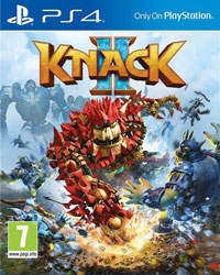 Game Knack 2 (PS4) Cover