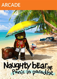 Game Naughty Bear: Panic in Paradise (X360) Cover