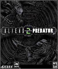 Aliens vs Predator 2 Game Box