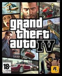 Grand Theft Auto IV Game Box