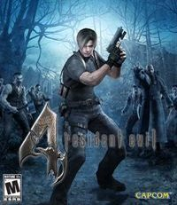 Resident Evil 4 HD Game Box