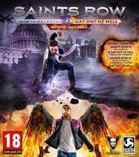 Saints Row IV Game Box