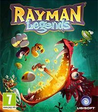 Rayman Legends Game Box