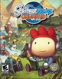 Scribblenauts Unlimited Game Box