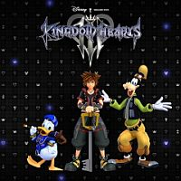 Kingdom Hearts III Game Box
