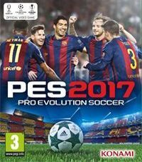 Pro Evolution Soccer 2017 Game Box