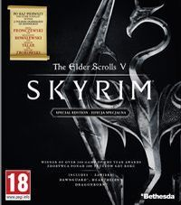 The Elder Scrolls V: Skyrim Special Edition Game Box