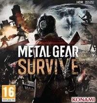 Metal Gear Survive Game Box