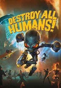 Destroy All Humans! Game Box