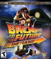 Back to the Future Game Box