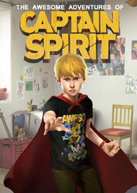 The Awesome Adventures of Captain Spirit Game Box
