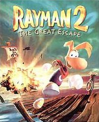 Rayman 2: The Great Escape Game Box