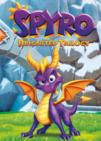 Spyro Reignited Trilogy Game Box