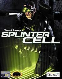 Tom Clancy's Splinter Cell Game Box